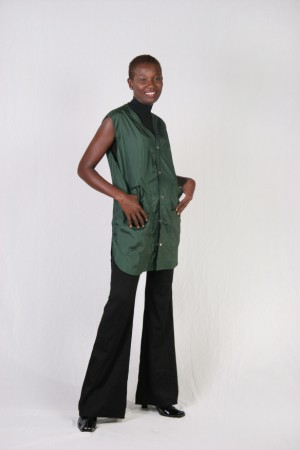 Hunter Green Stylist Vest