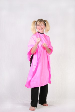 Pink Cutting Cape