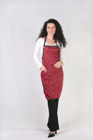 Burgundy Stylist / Nail Tech Apron