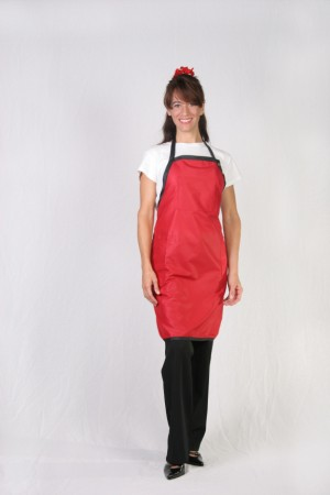 Red Stylist Apron