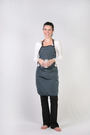 Charcoal Stylist Apron