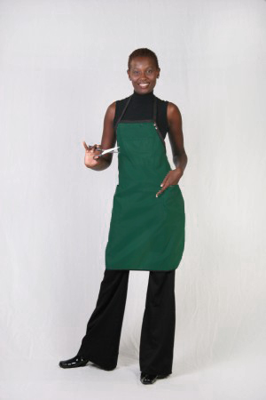 Hunter Green Stylist / Nail Tech Apron