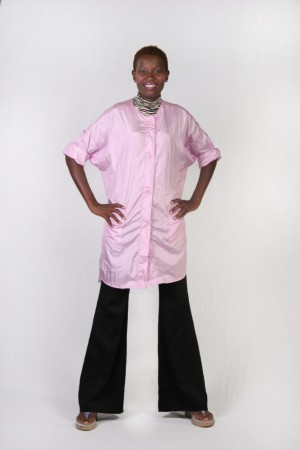 Pink Kamize Big Shirt