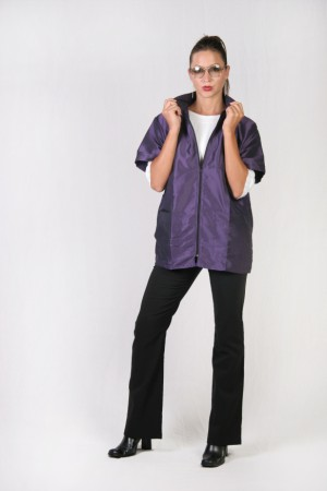 Lilac Barber Nail Tech Jacket