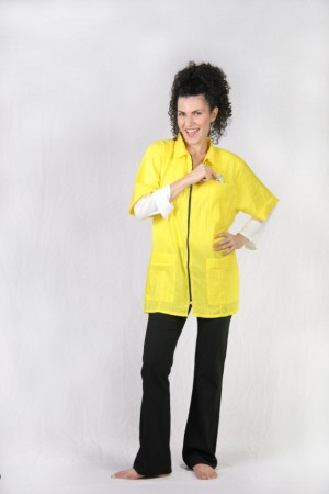 Canary Barber Nail Tech Jacket
