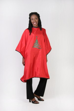 Christmas Themed Cutting Cape