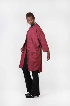 Burgundy Big Shirt
