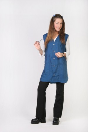 Navy Blue Stylist Vest