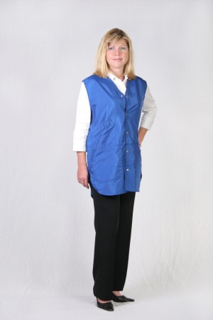 Royal Blue Stylist Vest
