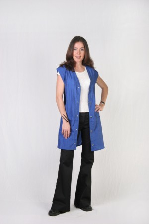 Medium Blue Stylist Vest