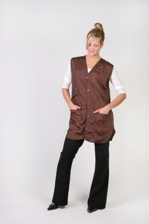 Brown Stylist Vest