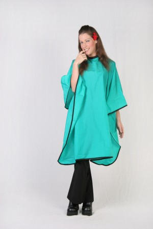 Green Teal Cutting Cape