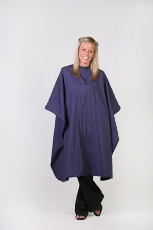 Dark  Purple Cutting Cape