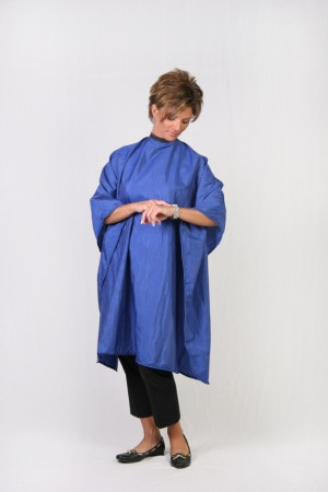 Medium Blue Cutting Cape