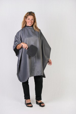 Dark Silver Cutting Cape