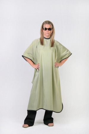 Green Cutting Cape
