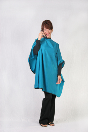 Blue Teal Cutting Cape