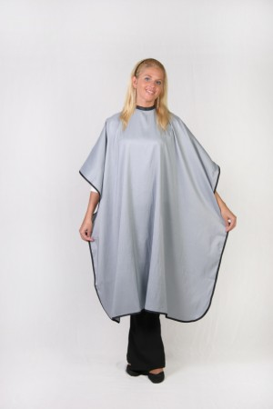 Light Silver Cutting Cape