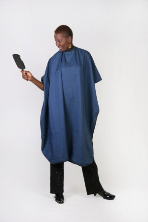 Navy Cutting Cape