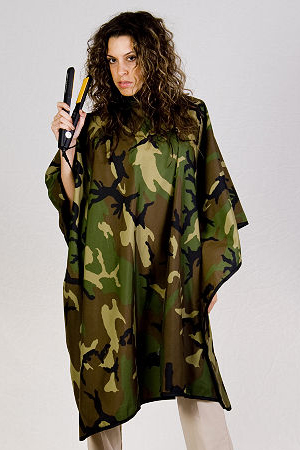 Camo Cutting Cape