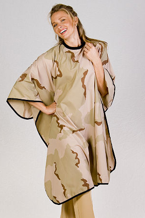Desert Camo Cutting Cape