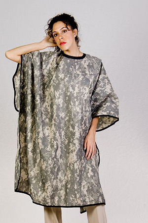 Digital Camo Cutting Cape
