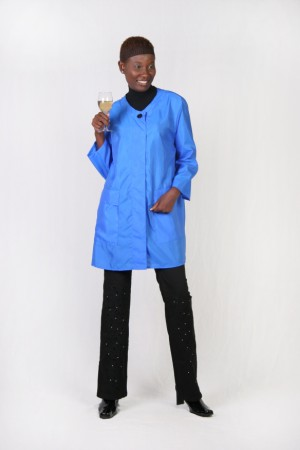 Royal Blue Swing Coat