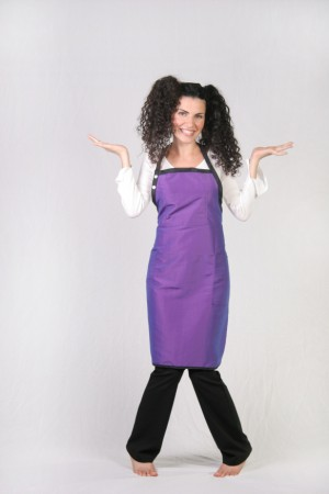 Light Purple Stylist Apron