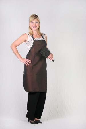 Dark Brown Stylist / Nail Tech Apron