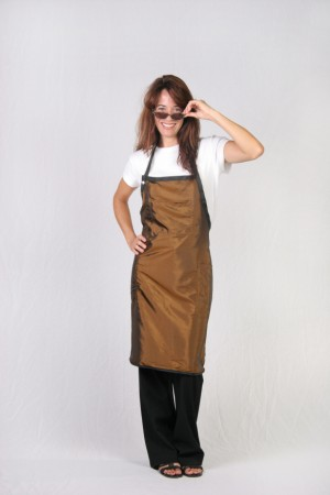 Brown Mustard Stylist / Nail Tech Apron