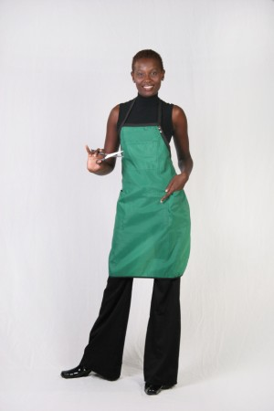 Kelly Green Stylist Apron