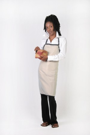 Sand Colored Stylist / Nail Tech Apron