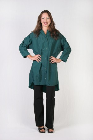 Hunter Green Kamize Big Shirt