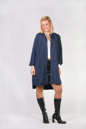 Navy Blue Kamize Big Shirt