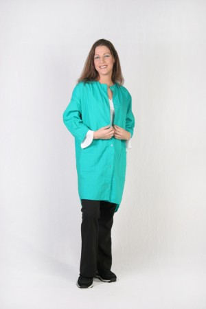 Green Teal Kamize Big Shirt
