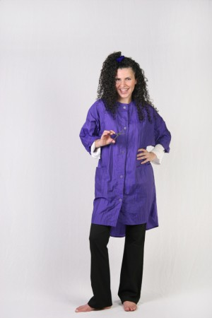 Dark Purple  Kamize Big Shirt