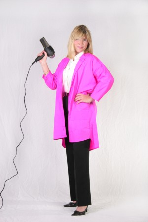 Fuschia Kamize Big Shirt