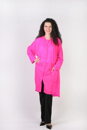 Hot Pink Kamize Big Shirt