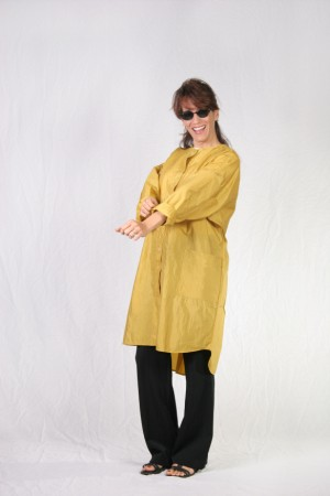 Goldenrod Kamize Big Shirt