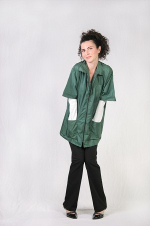 Hunter Green Barber Nail Tech Jacket