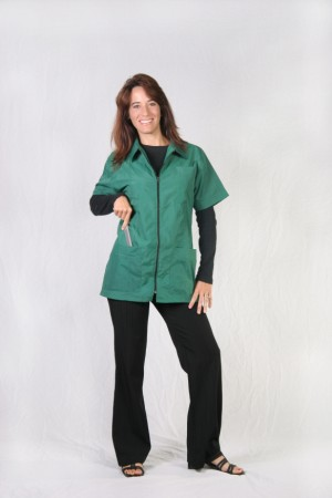 Emerald Barber Nail Tech Jacket