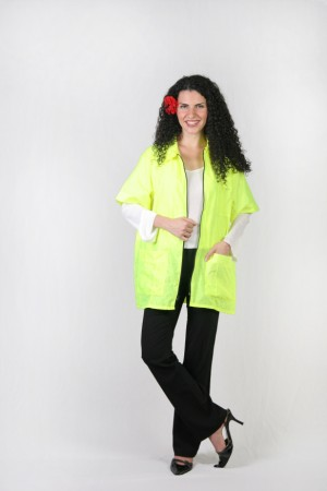 Chartreuse Barber Nail Tech Jacket