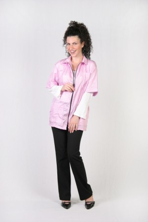 Pink Barber Nail Tech Jacket